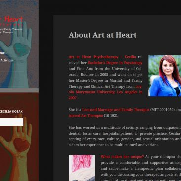 Art at Heart Psychotherapy – Denver, Colorado