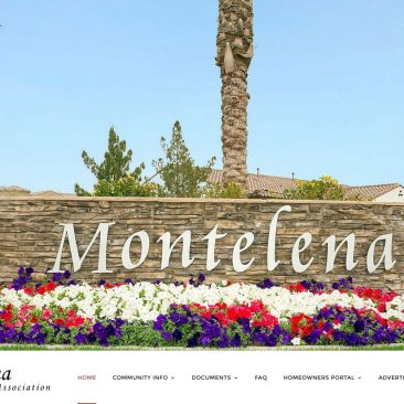 Montelena HOA – Queen Creek, AZ
