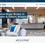 Web Design - New Buyer One Screen Shot - Gilbert AZ