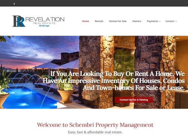 Web Design - schembri new - Chandler AZ