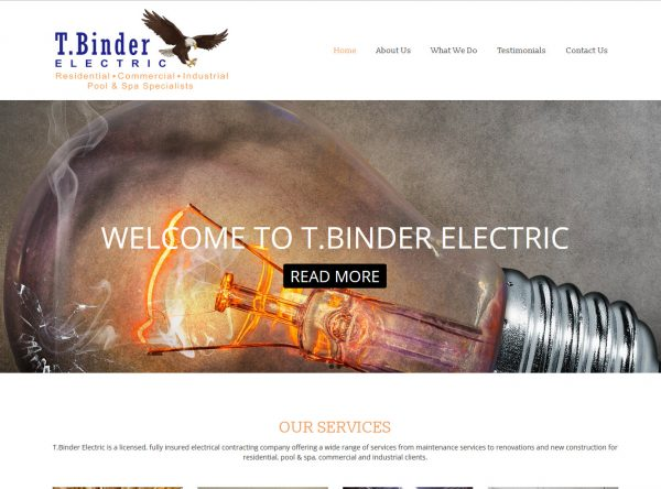 Web Design - tbinder-after - Simi Valley CA