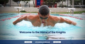 Web Design - Higley Swim and Dive - Gilbert AZ