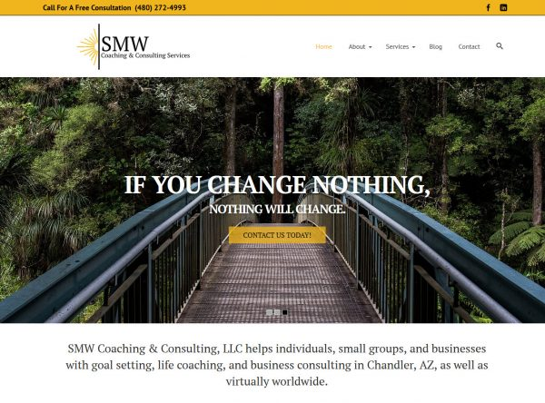 Web Design - SMW Coaching - Chandler AZ