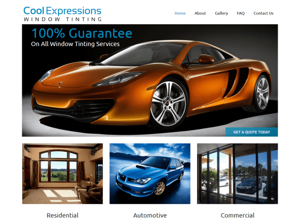 Web Design - Cool Expression - Chandler AZ
