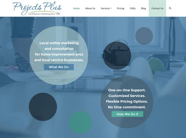 Web Design - Projects Plus - Chandler AZ