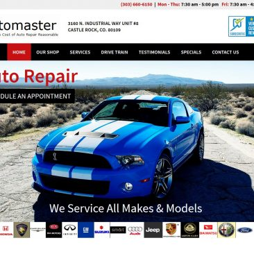 the Automaster – Castle Rock, Colorado