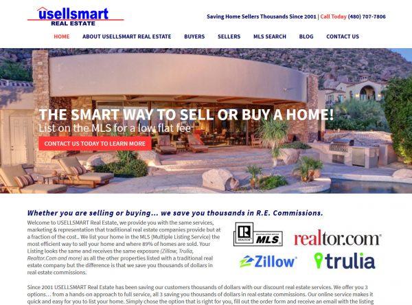 Web Design - UsellSmart - Phoenix AZ