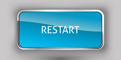 Web Design - Restart Button - Chandler AZ