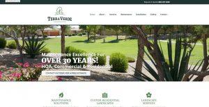 Web Design - Terra Verde - Gilbert AZ