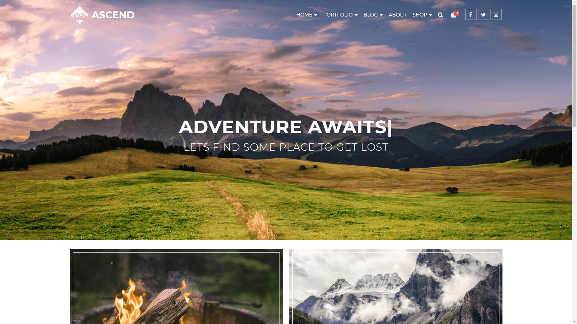 Web Design - Ascend Mountains - Colorado Springs CO