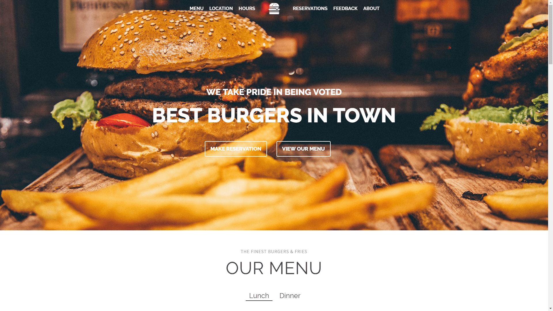 Web Design - Ascend Restaurant - Gilbert AZ