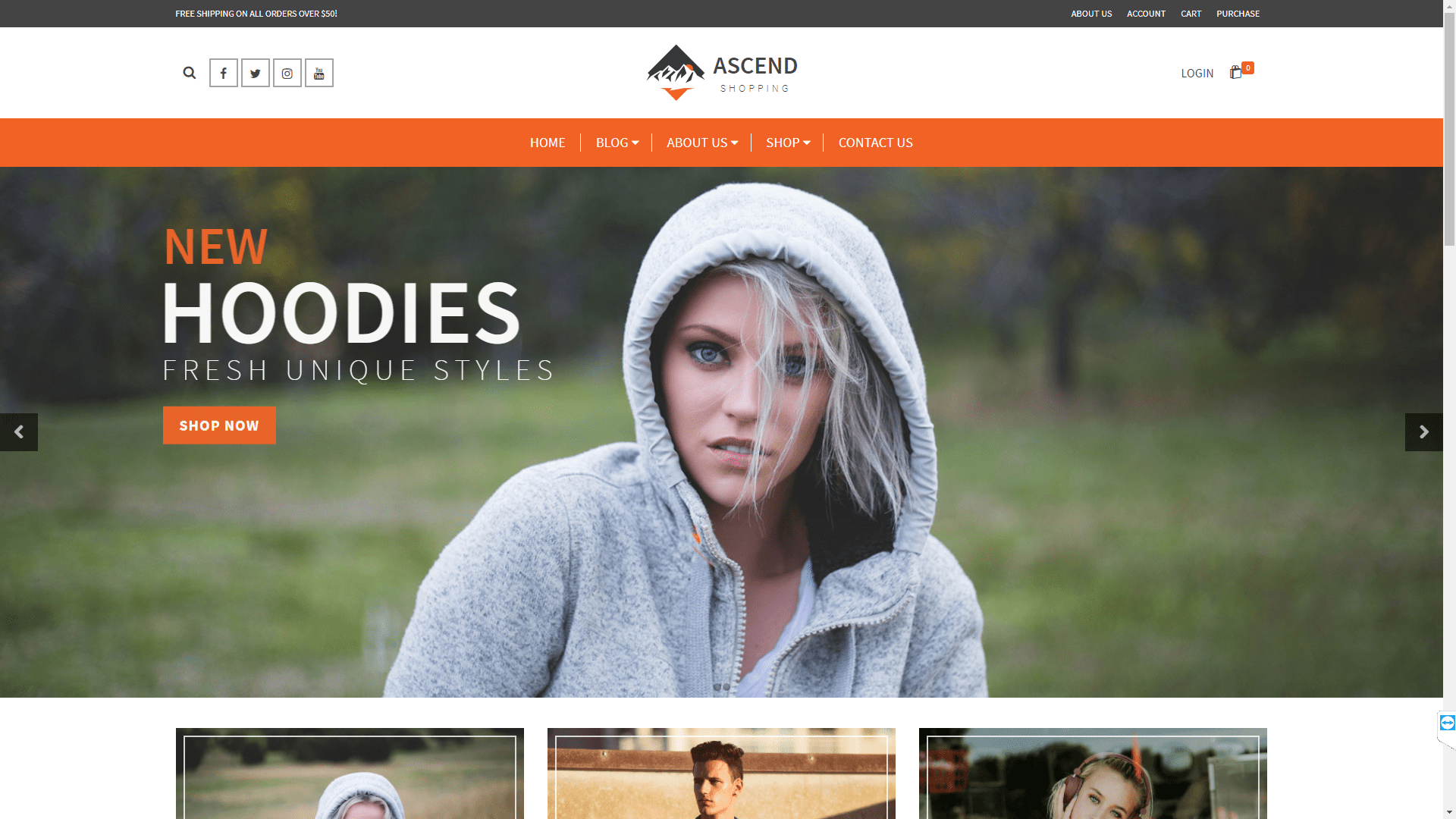 Web Design - Ascend Shopping - Denver CO