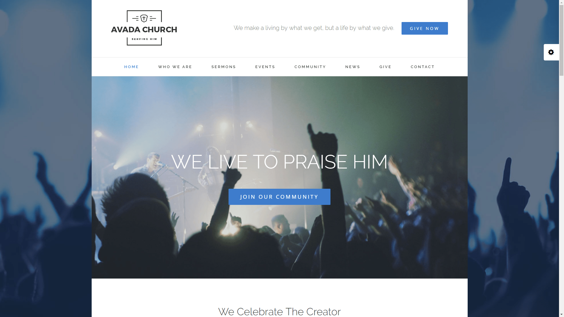 Web Design - Church - Gilbert AZ