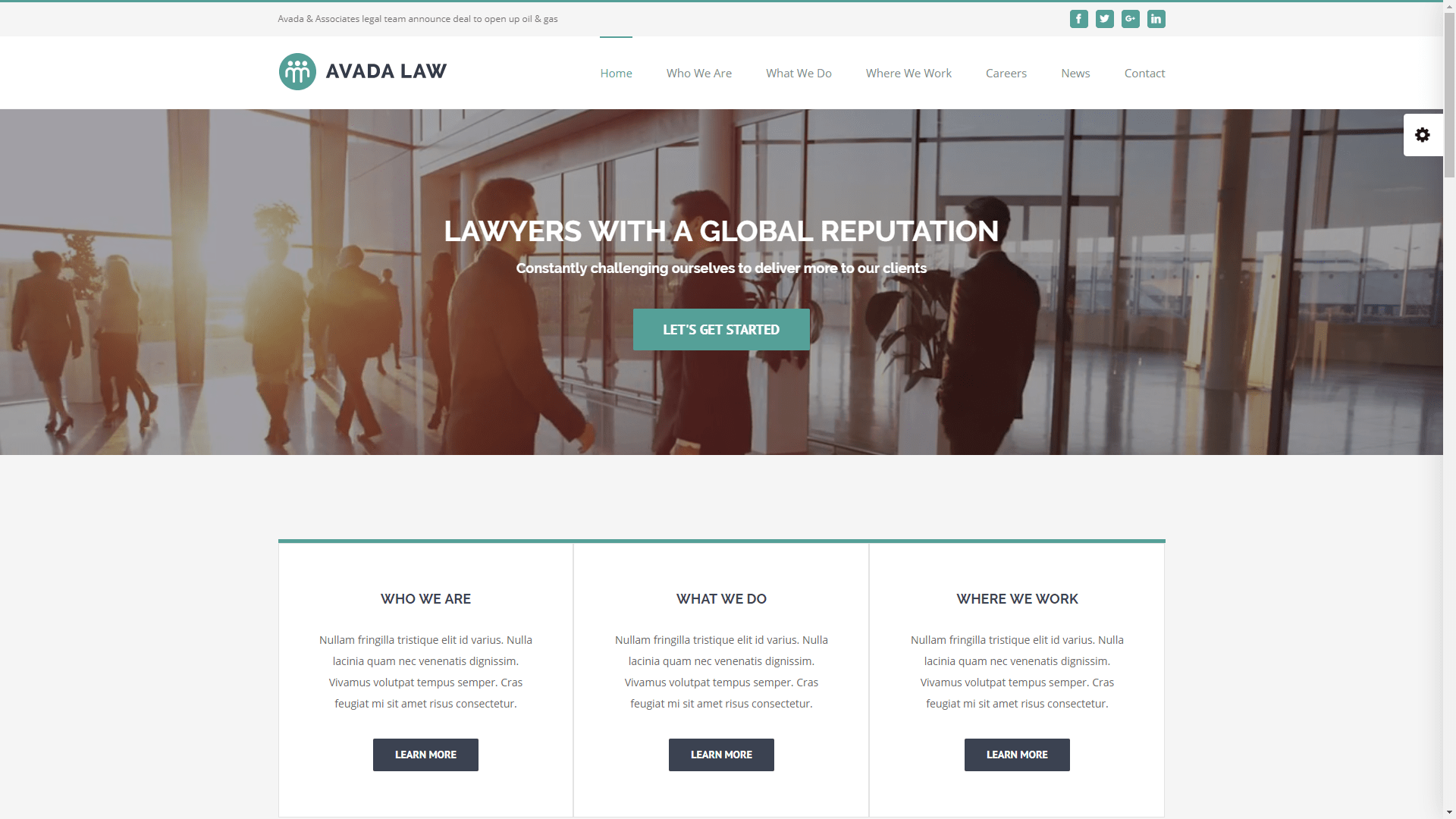 Web Design - Law - Phoenix AZ