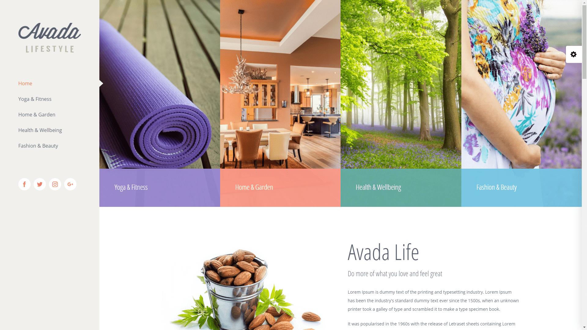 Web Design - Lifestyle - Irvine CA