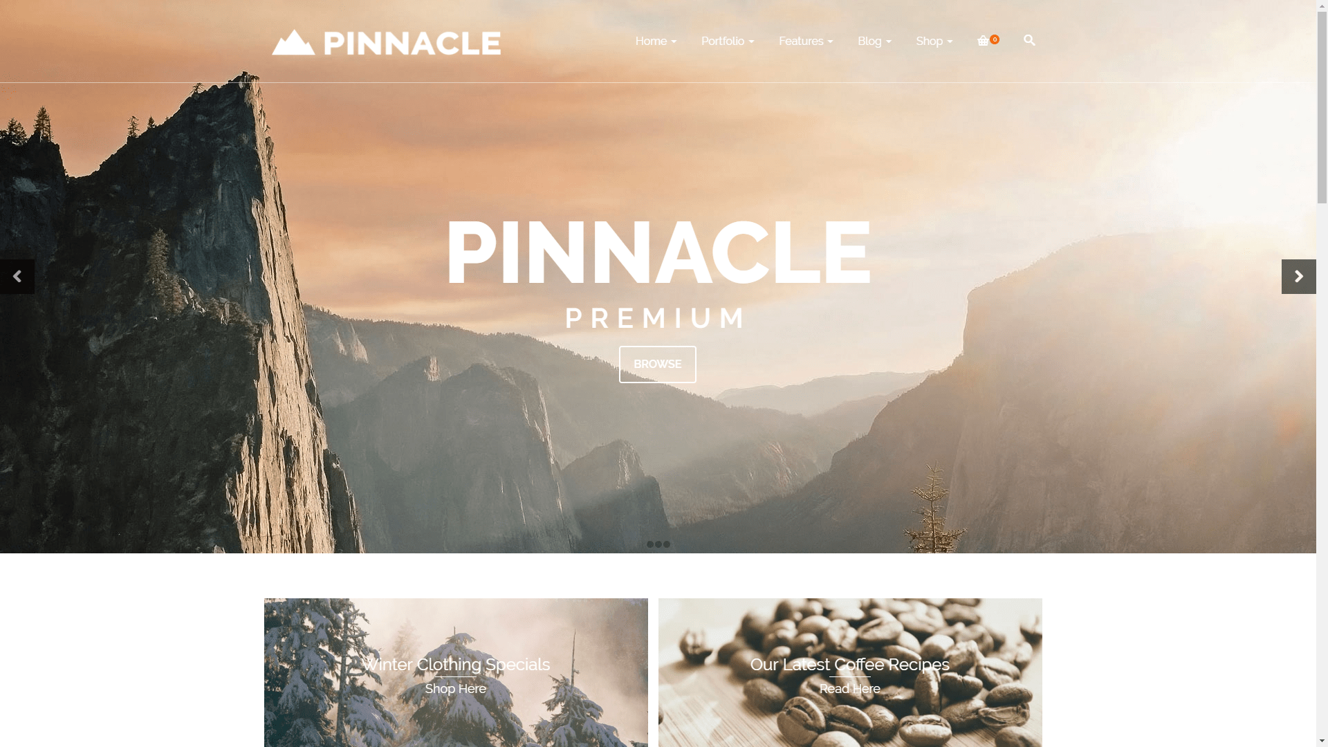 Web Design - Pinnacle Premium - Flagstaff AZ