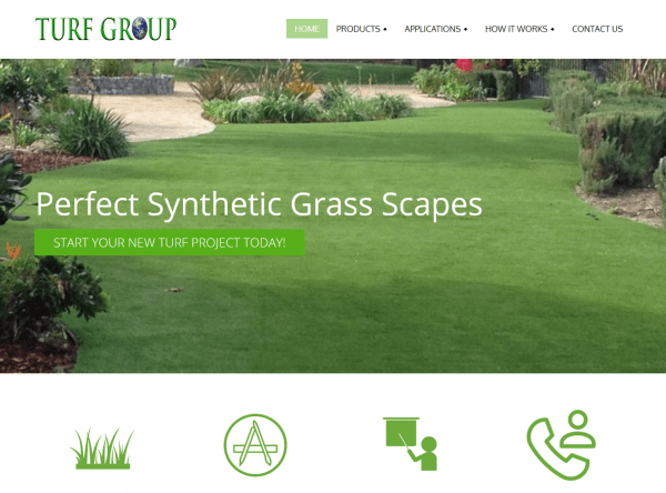 Web Design - Turf Group - Canoga Park CA
