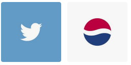 simple logo design services - twitter - pepsi