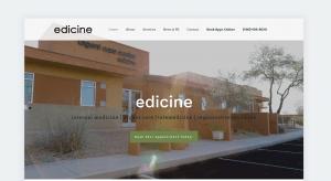 Web Design - Edicine - New Screenshot - Scottsdale AZ