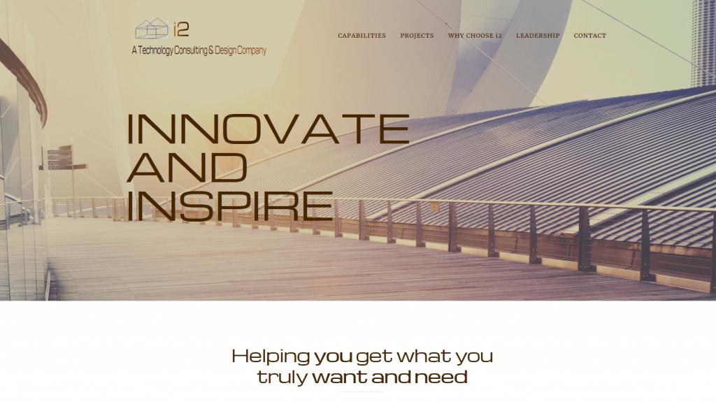 Web Design - i2 Tech Design Screenshot - Tempe AZ