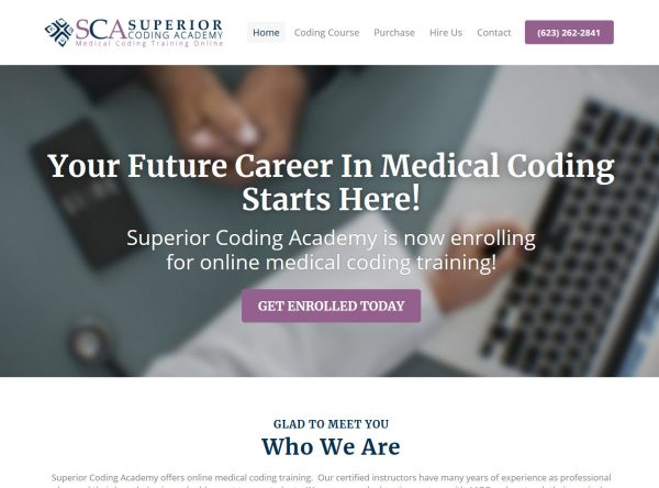 Superior Coding Academy - Online Medical Coding Courses - Scottsdale, Arizona