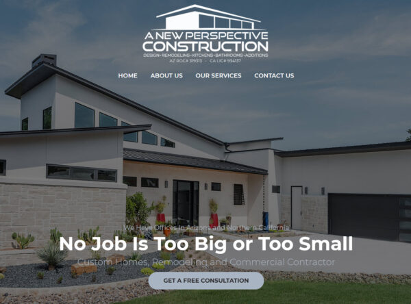 A New Perspective Construction - Queen Creek, Arizona - New and Remodel Homes