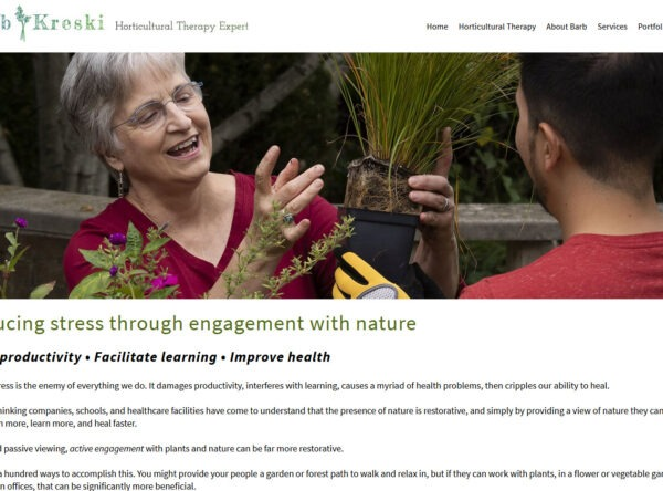 Barb Kreski - Horticultural Therapy Expert - Mt. Prospect, Illinois