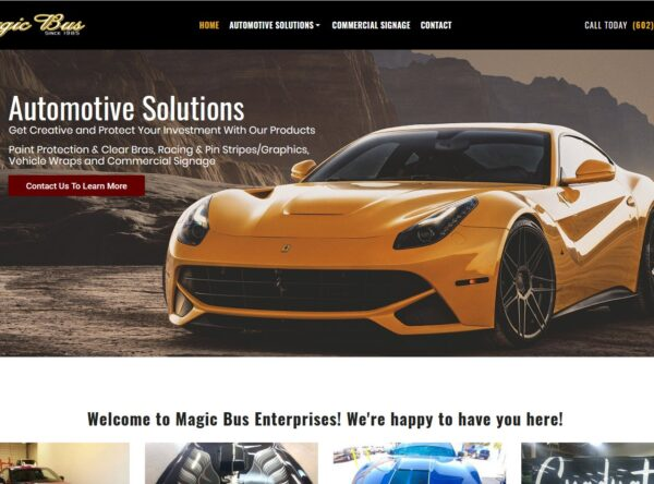 Magic Bus - Automotive Solutions - Paint Protection, Stripes, Graphics and Wraps - Tempe, Arizona